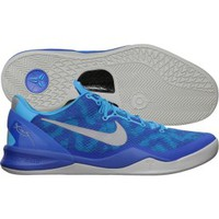 Nike Men's Kobe 8 System Basketball Shoe - Royal Blue/White | DICK'S Sporting Goods
