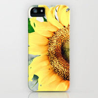 Sunflower&#x27;s better half iPhone Case by Irne Sneddon