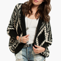 Diamante Aztec Cardigan $44