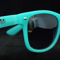 Rayban Wayfarer RB2140 Sunglasses Blue Turquoise Ray ban New