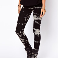 ASOS Legging in Sketchy Tie Dye