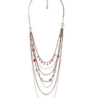 Colored Swag Necklace | FOREVER21 - 1000037908