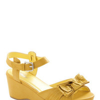 Sunset Lemonade Wedge - ModCloth.com