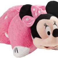 My Pillow Pets Authentic Disney Minnie Mouse 18-Inch Folding Plush Pillow, Large: Home & Kitchen