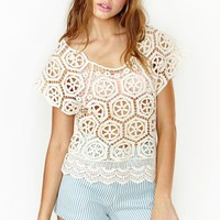 Love Fest Crochet Top