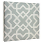 Canvas Tiles - Taupe Lattice