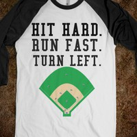 HIT HARD RUN FAST TURN LEFT - glamfoxx.com