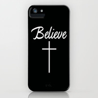 I believe iPhone Case by productoslocos | Society6