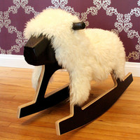 Rocking Sheep by brightsparkdesign on Etsy