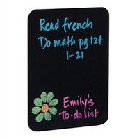9.5 x 12 Black Dry Erase Board