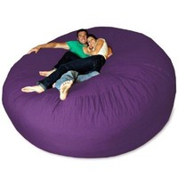 Micro Suede Giant Bean Bag Chair: Home &amp; Kitchen