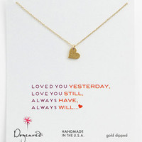 Dogeared &#x27;Sparkle Heart&#x27; Pendant Necklace | Nordstrom