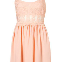 Petite Lace Strappy Dress - Spring Essentials  - New In  - Topshop USA