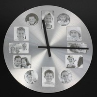 Creative Clock Photo Frame Art Decor Wall Clock