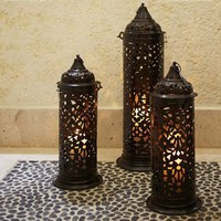 Darien Filigree Lanterns