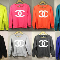 Color me Chanel-the Sweatshirt | hudiefly