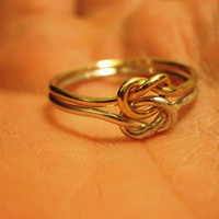 2 rings Argentium Sterling silver 14kt gold filled by jayy2009
