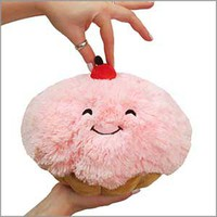 Mini Squishable Cupcake: An Adorable Fuzzy Plush to Snurfle and Squeeze!