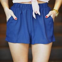 RESTOCK: Born This Way Shorts: Navy blue | Hope&#x27;s