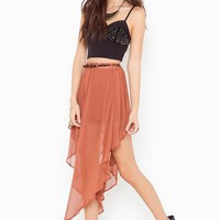 Sideshow Skirt - Copper in Sale at Nasty Gal