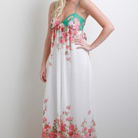 Gorgeous Garden Maxi Dress