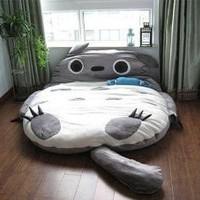 Amazon.com: Leyou Totoro Design Bigsofa 2.7x1.7m Totoro Bed Totoro Double Bed Totoro Sleeping Bag: Home & Kitchen