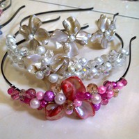 MPearl Headband by ItsGiorgeous on Etsy