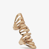 Cutout Knuckle Ring