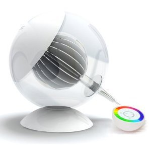 Equinox Translucent Color Changing LED Ambiance Lamp 2nd Generation with New Remote Control
