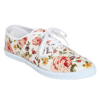 Floral Tennis Shoe | Shop Shoes at Wet Seal