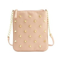 Cone Stud Mini Cross-Body Bag: Charlotte Russe