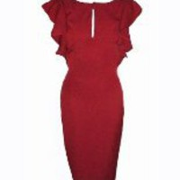 Red Carpet Style Dress-by Heart My Closet