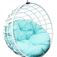 Outback Company UBC-996 Urban Balance Sphere Rattan, White: Patio, Lawn &amp; Garden
