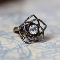 be my star flower ring in brass - &amp;#36;9.99 : ShopRuche.com, Vintage Inspired Clothing, Affordable Clothes, Eco friendly Fashion