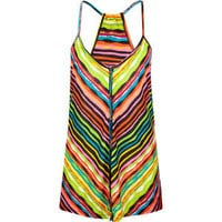FULL TILT Stripe Button Front Womens Tank 191886957 | tanks & camis | Tillys.com