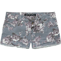 CELEBRITY PINK Floral Womens Cutoff Shorts 190980957 | shorts | Tillys.com