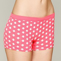 Free People Dot Print Boyshort