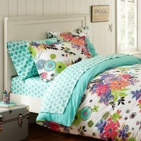 Tropical Garden Duvet Cover + Sham