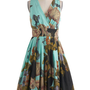 Glamour Power to You Dress in Woodland Garden | Mod Retro Vintage Dresses | ModCloth.com