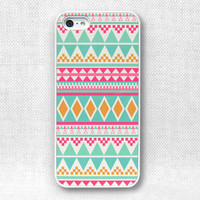 iPhone 5 Case, iPhone Case - Aztec Pattern - 070