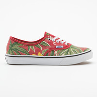 Red Hawaiian Van Doren Authentic Slim