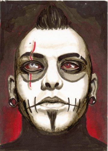 Zombie Grimmly Fiendish by ShayneoftheDead on Etsy
