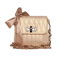 Pretty Bows Bag with Chain Strap  FashionForever