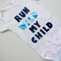 Children's Clothing Boutique Clothing Kids by eleanorestreasures- Run Wild My Child