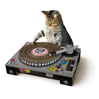 Cat DJ Scratching Decks - buy at Firebox.com