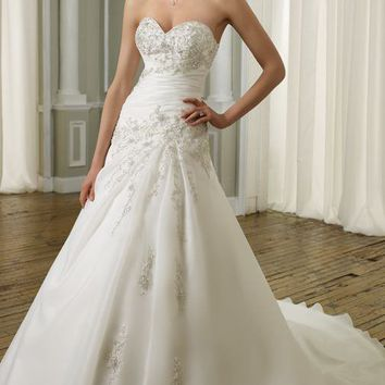 Mori Lee 1662 Dress - MissesDressy.com