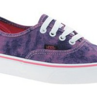 Vans Authentic Pink Denim Sneakers