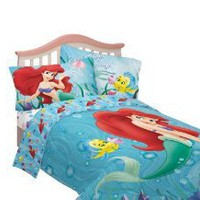 Amazon.com: Disney Little Mermaid Sea Friends Twin Sheet Set: Home & Kitchen