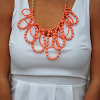 RESTOCK: Pretty In Coral Pastel Necklace | Hope&#x27;s