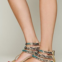 Free People Sahara Beaded Sandal